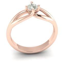 Verlovingsring marlies 025 rendering shop_Perspective_White Matte_Rose Gold_Moissanite